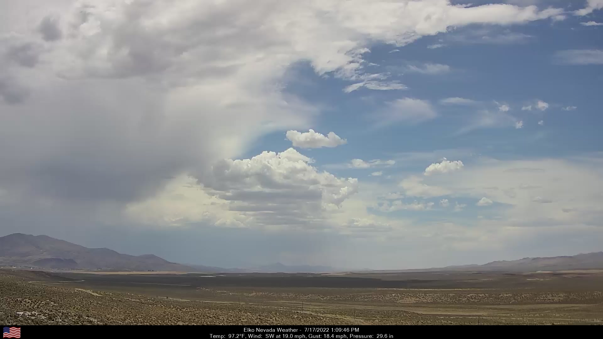 Elko Weather Camera, Southwest.
