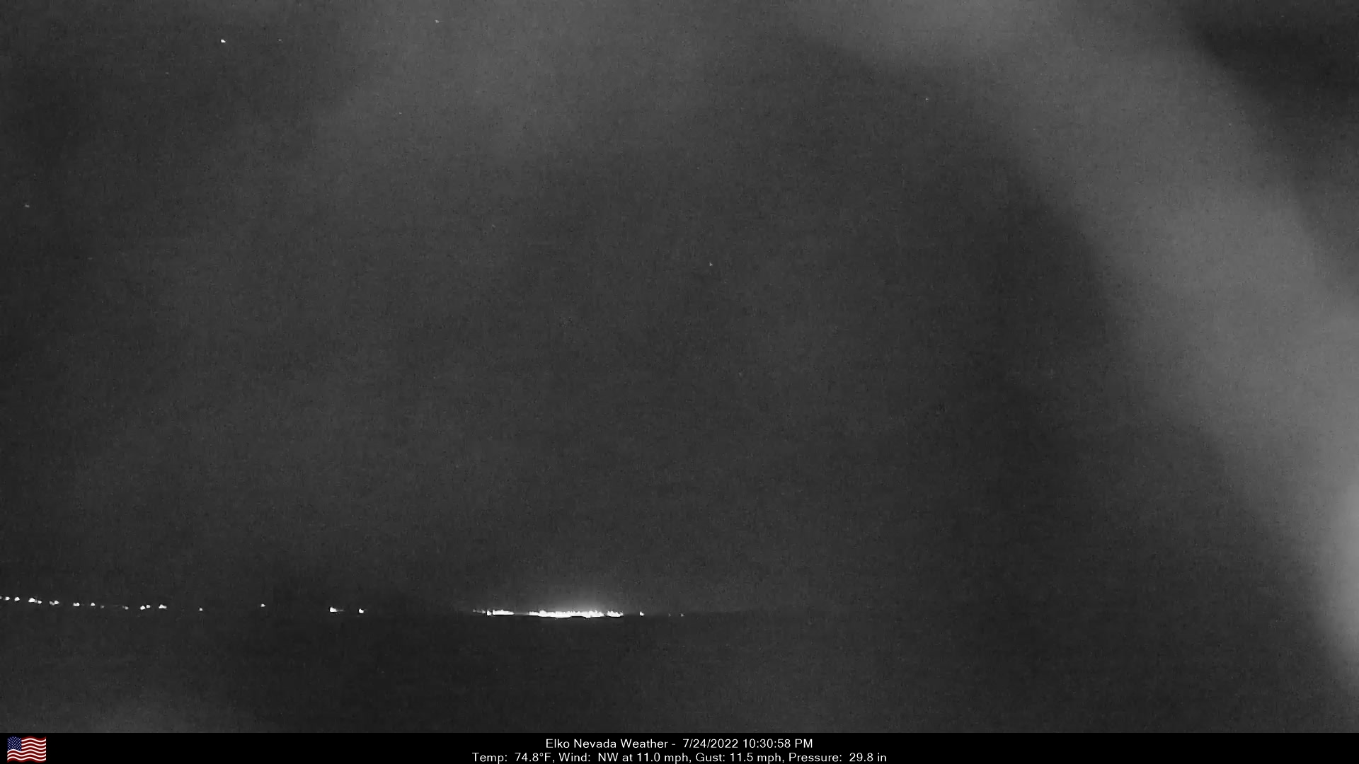 Elko Weather Camera, Northwest.
