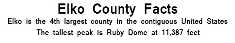Elko County Facts