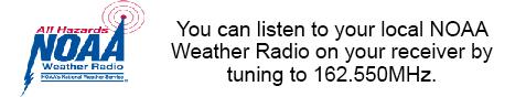 Listen to NOAA Weather Radio